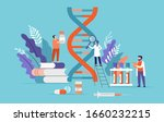 research scientist. science... | Shutterstock .eps vector #1660232215