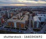 Drone View On Belgrade City ...