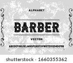 alphabet font.typeface.script...   Shutterstock .eps vector #1660355362