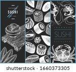 japanese cuisine design... | Shutterstock .eps vector #1660373305