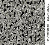 vector seamless pattern. floral ...   Shutterstock .eps vector #1660468312