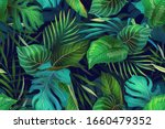 seamless vector pattern with... | Shutterstock .eps vector #1660479352