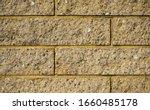 Yellow Bricks Wall. Bricks...