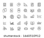 set of linear analysis icons....   Shutterstock .eps vector #1660510912