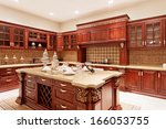 Stock photo kitchen interior 166053755
