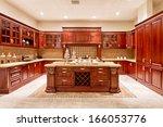 kitchen interior  | Shutterstock . vector #166053776