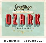 vintage touristic greeting card ... | Shutterstock .eps vector #1660555822