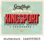 vintage touristic greeting card ... | Shutterstock .eps vector #1660555825