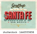 vintage touristic greeting card ... | Shutterstock .eps vector #1660555858