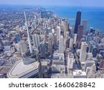 Trump Tower  Chicago  Aerial...
