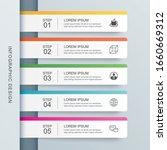 5 data infographics tab paper...   Shutterstock .eps vector #1660669312