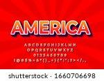 modern styled 3d trendy font... | Shutterstock .eps vector #1660706698