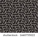 pattern with with stripes ... | Shutterstock .eps vector #1660755022