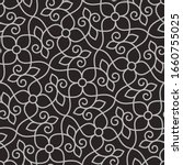 seamless pattern with thin... | Shutterstock .eps vector #1660755025