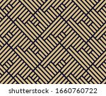 abstract geometric pattern with ... | Shutterstock . vector #1660760722