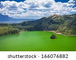 Lake Inside Taal Volcano Near...