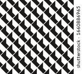 Op Art Monochrome Block Pattern....