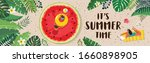 it s summer time banner design. ... | Shutterstock .eps vector #1660898905