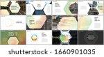 minimal presentations design ... | Shutterstock .eps vector #1660901035