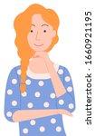 woman character vector ... | Shutterstock .eps vector #1660921195