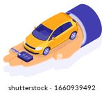 sale  purchase  rent car...   Shutterstock .eps vector #1660939492