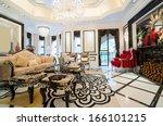 luxury living room with nice... | Shutterstock . vector #166101215