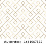 Abstract Geometric Pattern. A...