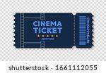cinema tickets on background.... | Shutterstock .eps vector #1661112055