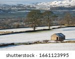 Snowy Wensleydale View In The...