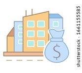 market value of apartments icon....