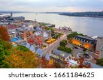 Panoramic View Of Quebec City...