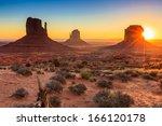 Monument Valley Twilight  Az ...