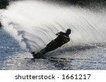 Silhouette Water Ski