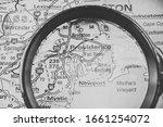 usa travel map background...   Shutterstock . vector #1661254072
