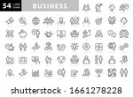 business and finance web icon... | Shutterstock .eps vector #1661278228