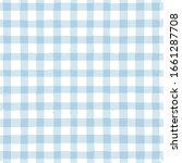 Blue Gingham Seamless Pattern....