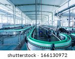 drinks production plant in china | Shutterstock . vector #166130972