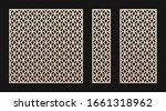 laser cut panel. vector... | Shutterstock .eps vector #1661318962