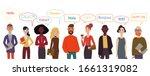 international group of... | Shutterstock .eps vector #1661319082