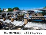 Woonsocket Falls Dam On...