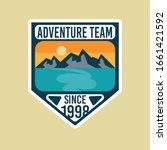 adventure logo template for...   Shutterstock .eps vector #1661421592