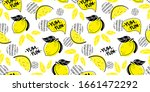 seamless bright light summer...   Shutterstock .eps vector #1661472292