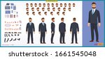 people character business set.... | Shutterstock .eps vector #1661545048
