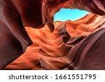 Antelope Canyon In Arizona Near ...