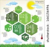 modern ecology design layout | Shutterstock .eps vector #166156496