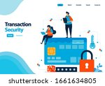 landing page template of secure ...