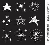 hand drawn illustration stars...   Shutterstock .eps vector #1661734948