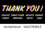 set of grateful brush sign... | Shutterstock .eps vector #1661783815