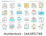 energy industry related  color... | Shutterstock .eps vector #1661851768