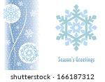 template of celebratory color... | Shutterstock .eps vector #166187312